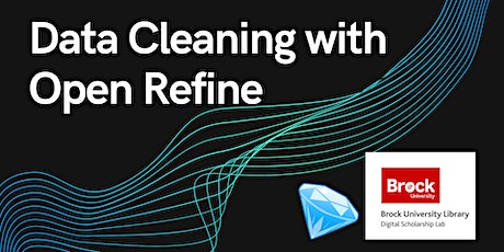 Data Cleaning with Open Refine tickets