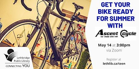 Teen Bike Maintenance Workshop tickets