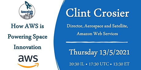Space-Café TLV: How AWS is Powering Space Innovation tickets