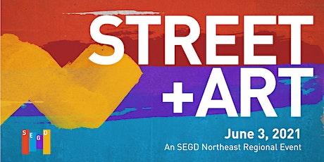 STREET+ART  //  SEGD Northeast Regional  Speaker Series tickets