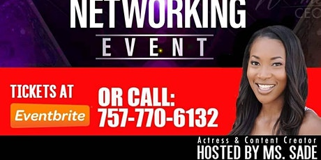 Virtual Small Business Networking Event. Hosted by Actress Ms.Sade tickets
