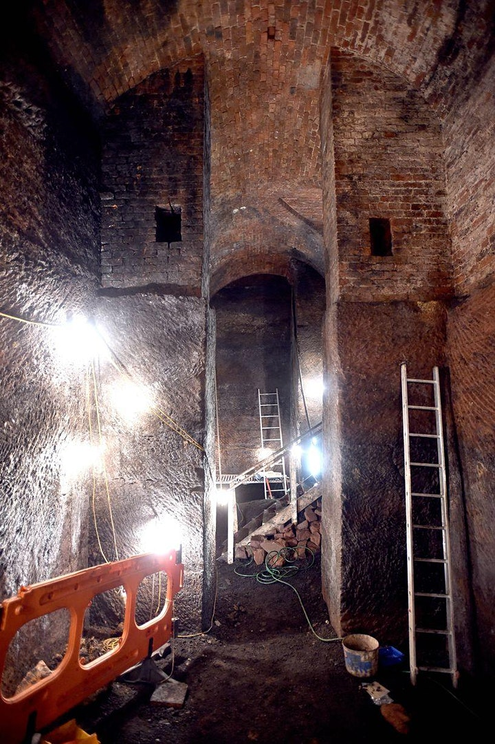 Secret Underground Tunnels of Liverpool – Zoom tour with Ed Glinert image