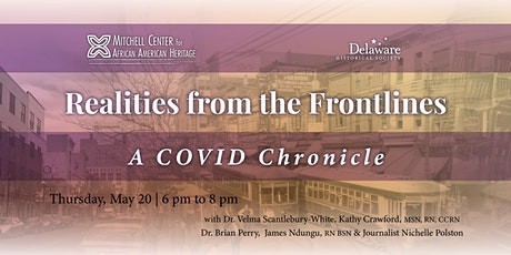 Dr. Velma Scantlebury-White - Realities from the COVID Frontlines tickets