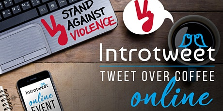 #TweetOverCoffee Online in aid of Stand Against Violence tickets