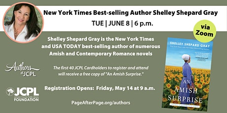 Authors at JCPL Presents: Shelley Shepard Gray (with book giveaway) tickets