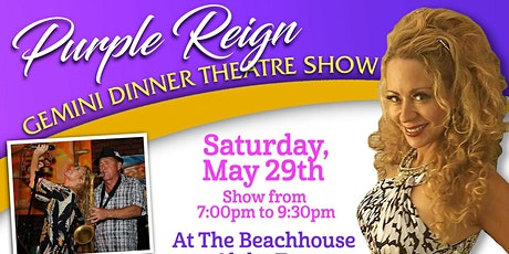 Purple Reign Gemini  Show w Liquid  Amber @ The Beachhouse Aloha Tower tickets