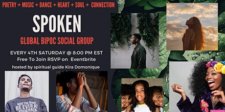 SPOKEN OPEN MIC - A Racial Ethnic Support Group tickets