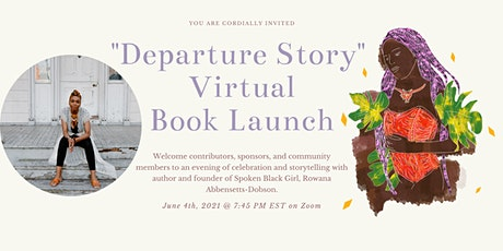 Departure Story  Book Launch Party tickets