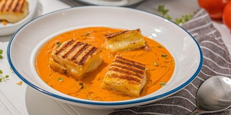 FREE Cook-Along: Summer Tomato Soup with Grilled Cheese Croutons tickets