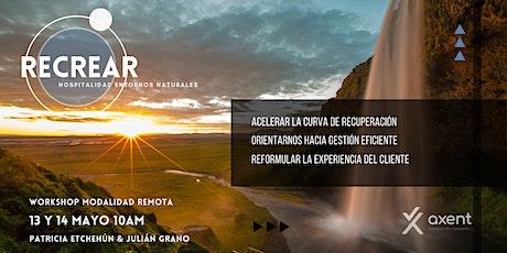 RE-CREAR: la hospitalidad en entornos naturales. Retos y oportunidades entradas