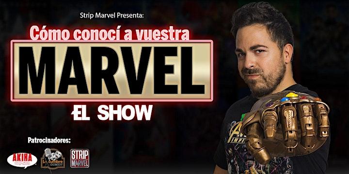 """Imagen de STRIPMARVEL-COMO CONOCI A VUESTRA MARVEL """" EL SHOW"""