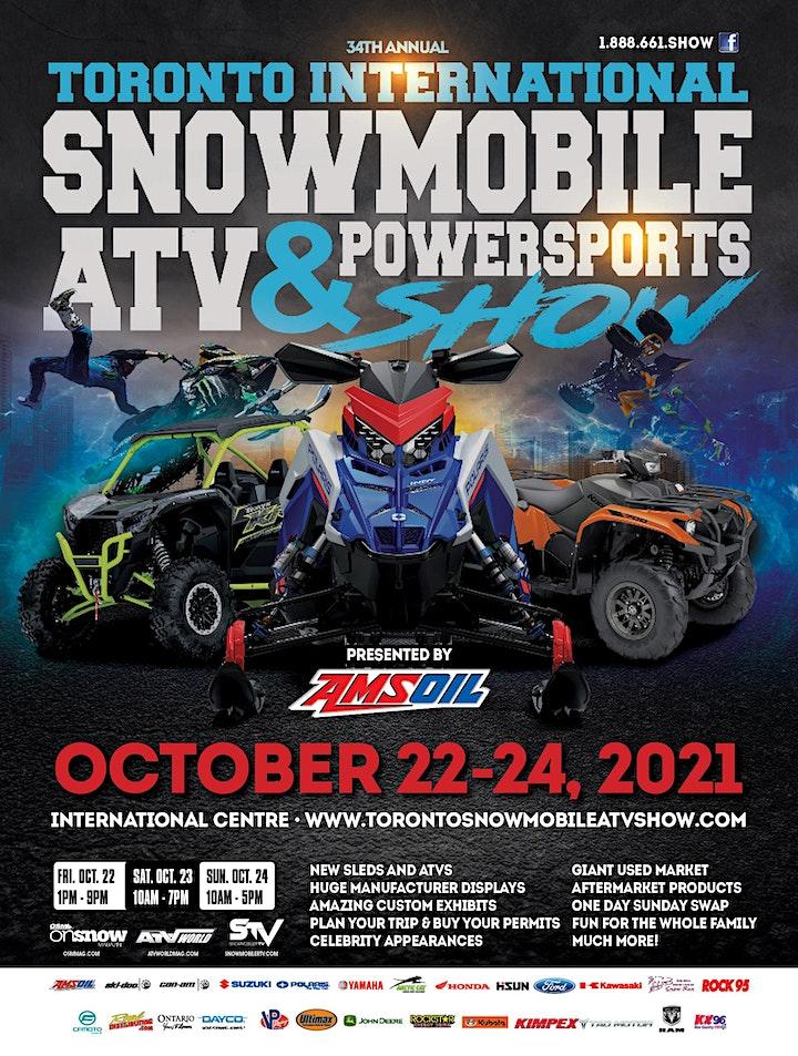 34th Annual Toronto International Snowmobile, ATV & Powersports Show 2021 image