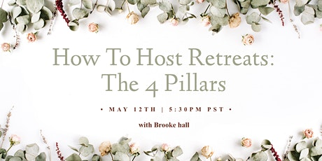 Learn How to Host Retreats (free workshop) tickets