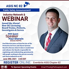 Sound the alarm! ASIS Chapter 82 Event tickets