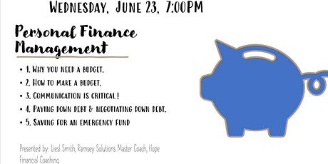 Summer Seminar Series- Personal Finance Management tickets