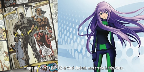 7/19 - 7/22/2021 DIGITAL Comic Book Design & DIGITAL Manga/Anime tickets