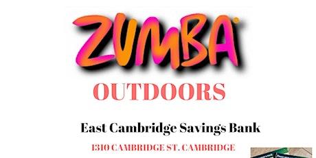 OUTDOOR  Zumba in Cambridge tickets