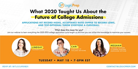 What 2020 Taught Us About the Future of College Admissions tickets