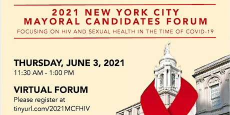 2021 New York City Mayoral Candidates Forum on HIV and Sexual Health tickets