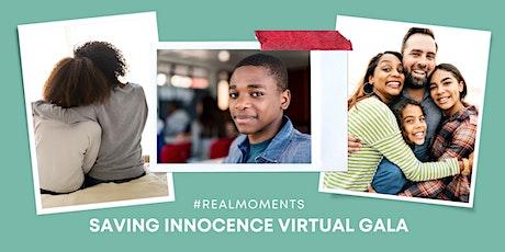 Saving Innocence Virtual Gala 2021 tickets