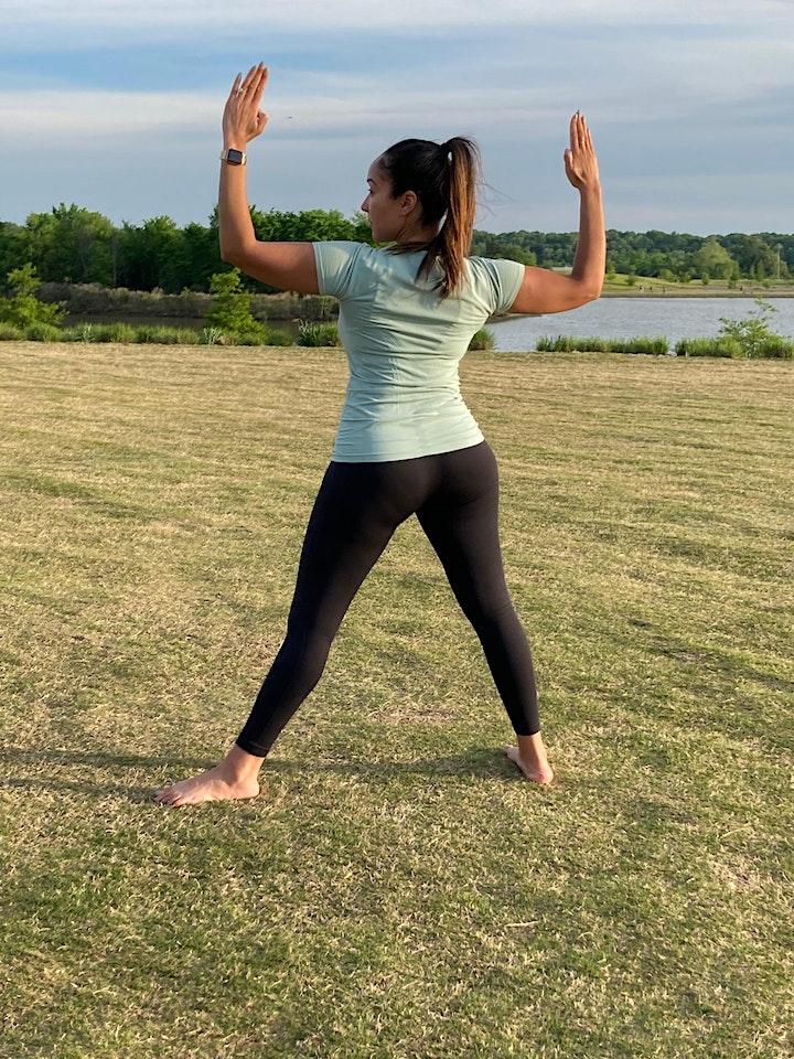 Kemetic Yoga in the River Garden image