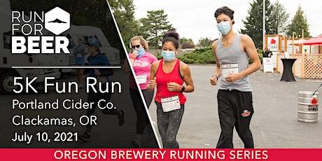 Cider Run - Portland Cider | 2021 OR Brewery Running Series tickets