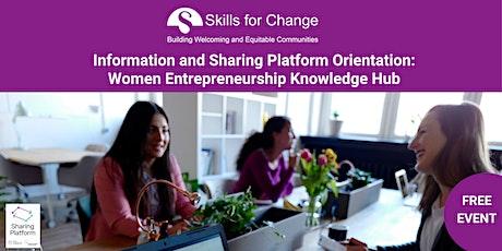 *Online Workshop: The Women Entrepreneurship Knowledge Hub tickets