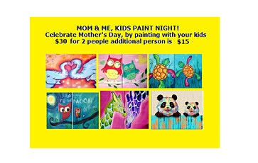 Mom &Me, Kids' Paint Night tickets