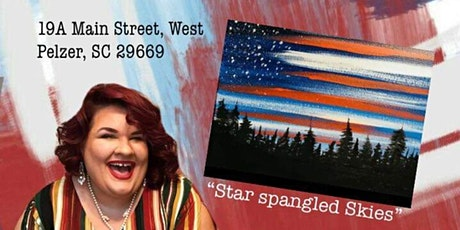"Memorial Day Painting Class ""Star Spangled Skies"" tickets"