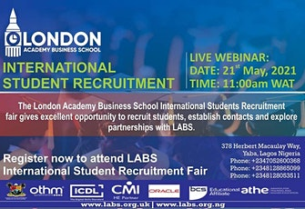 International Student Recruitment Fair tickets