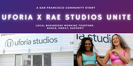 Uforia x Rae Studios Community Event tickets