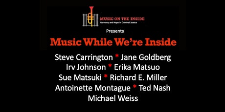 Music While We're Inside Free Jazz Concert on Sunday, May 9th at 6PM ET tickets