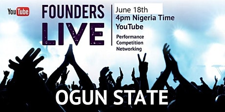 Founders Live  Lagos/Ogun State - Virtual Pitch Competition tickets