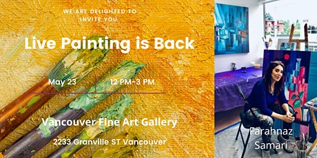 Live Painting is Back tickets