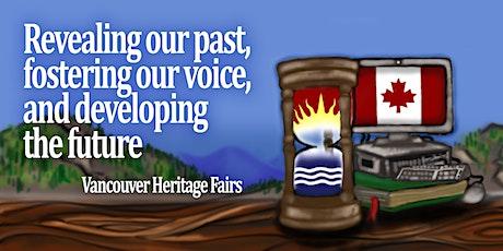 Vancouver Regional Heritage Fair tickets