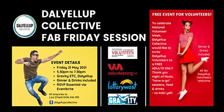 Dalyellup Collective Fab Friday Session tickets