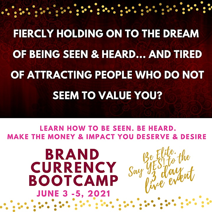 Brand Currency Bootcamp 3 Day LIVE Online Training Event image