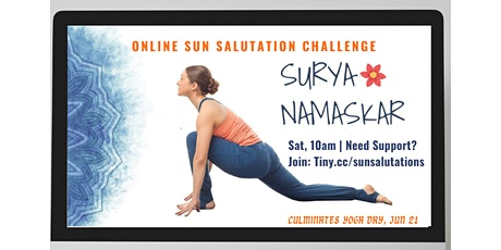 Online Sun Salutations Challenge tickets