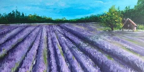 Chill & Paint Friday Night at  Auck City Hotel  - Lavender Field! tickets