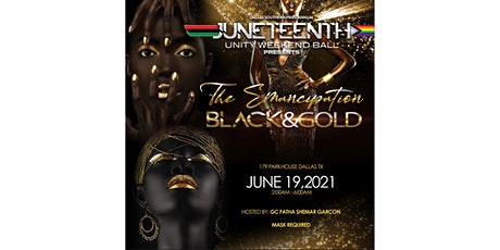 The Emancipation BLACK&GOLD tickets