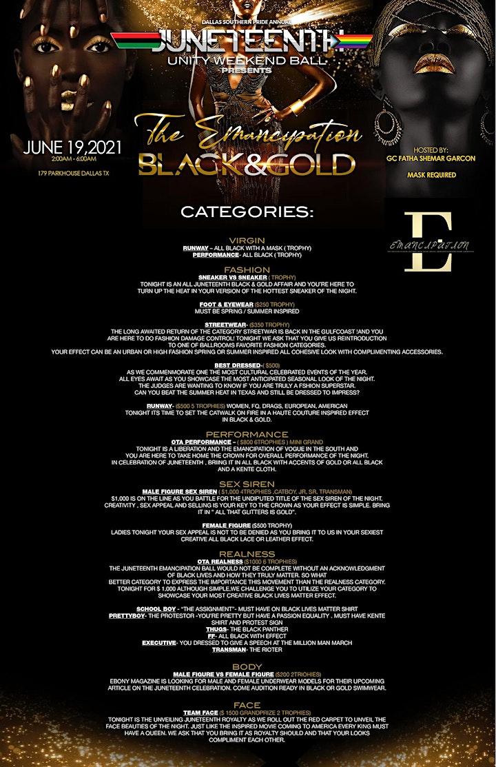 The Emancipation BLACK&GOLD image