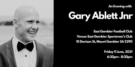 A Night with Gary Ablett Jnr in Mount Gambier tickets