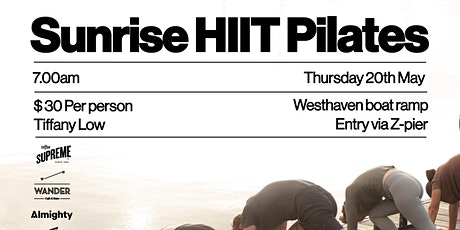 Sunrise HIIT Pilates tickets