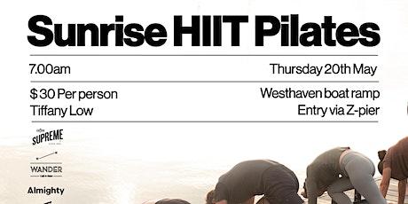 Sunrise HIIT Pilates tickets