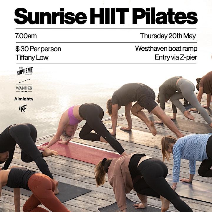 Sunrise HIIT Pilates image