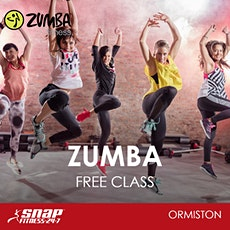 FREE Zumba Class at Snap Fitness Ormiston tickets