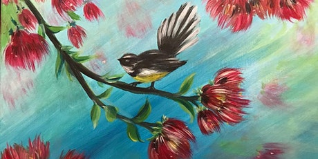 Chill & Paint Sat Arvo @ Auckland City  Hotel - Fantail on Pohutukawa tickets