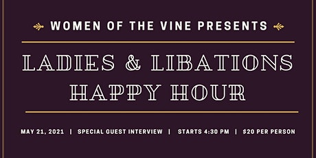 Women of the Vine - Happy Hour tickets