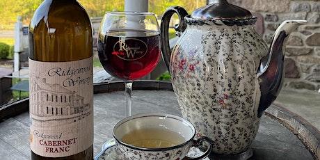 Sip & Sip Afternoon Tea  from 2-4 @Ridgewood Winery Birdsboro 5.30.21 tickets