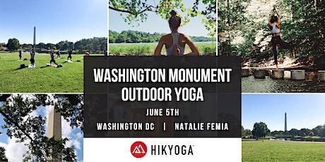Washington Monument Outdoor Yoga with Hikyoga® DC entradas